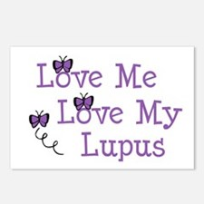 Love Me Love My Lupus Postcards (Package of 8)