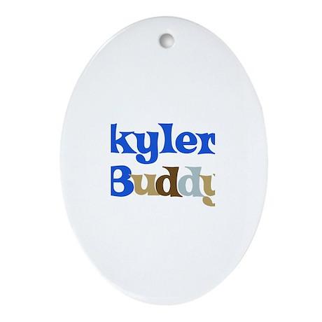 Skyler's Buddy Oval Ornament