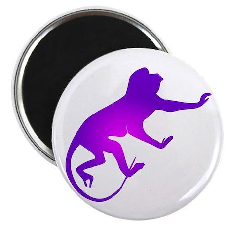 Tie Die Purple Monkey Magnet