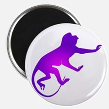 Tie Die Purple Monkey Magnet