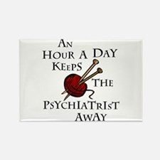An Hour A Day... Rectangle Magnet (100 pack)
