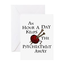 An Hour A Day... Greeting Card