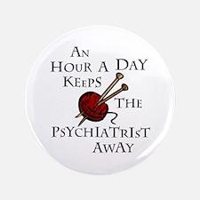 "An Hour A Day... 3.5"" Button"