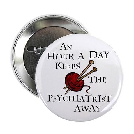 "An Hour A Day... 2.25"" Button"