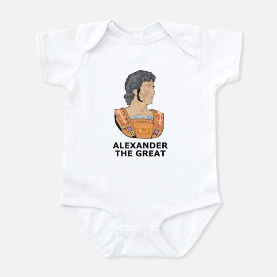 Alexander The Great Infant Bodysuit