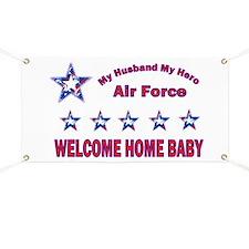 My husband My Hero Banner