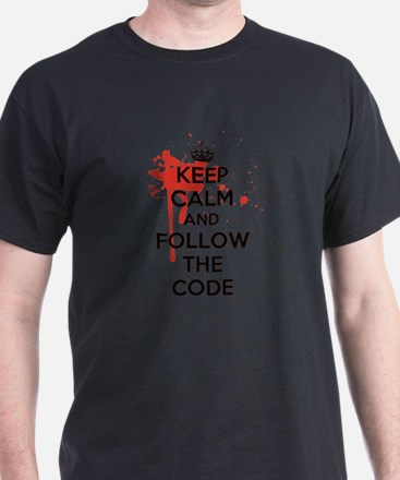 Keep Calm and Follow Harrys Code T-Shirt