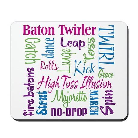 Baton Twirler Mousepad