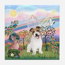 Cloud Angel 2 / JRT pup Tile Coaster