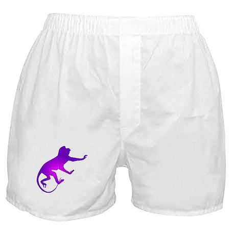Tie Die Purple Monkey Boxer Shorts