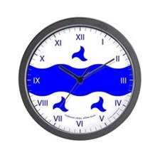 Trimaris Ensign Wall Clock
