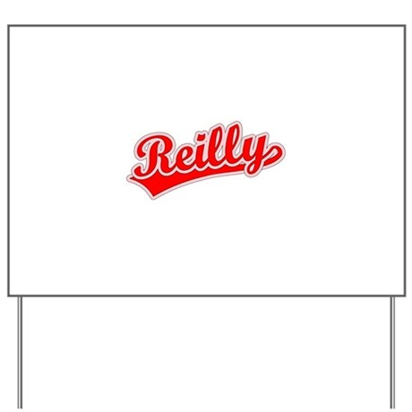 Retro Reilly (Red) Yard Sign
