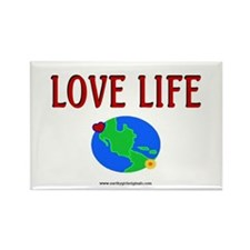 LoveLife(design 3)Gifts Rectangle Magnet