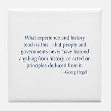 Hegel 1 Tile Coaster