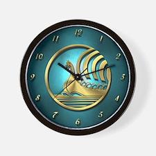 Norseman Aqua Wall Clock