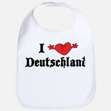 I Love Deutschland Bib