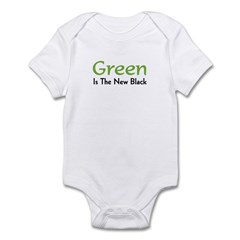 Green Is The New Black Infant Bodysuit