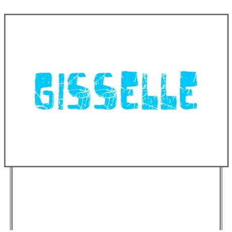 Gisselle Faded (Blue) Yard Sign