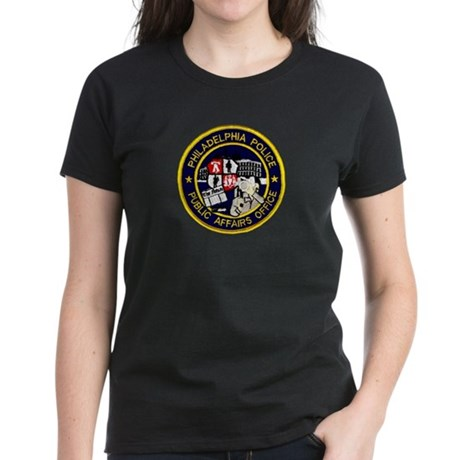 Philly PD P.A.O. Women's Dark T-Shirt