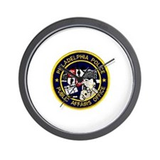 Philly PD P.A.O. Wall Clock