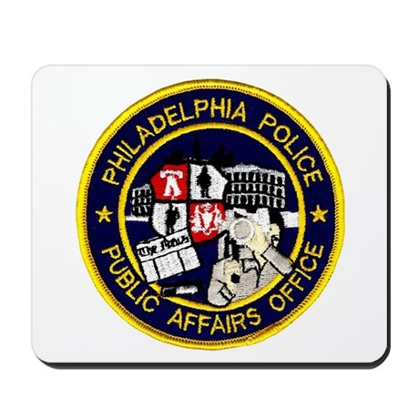 Philly PD P.A.O. Mousepad