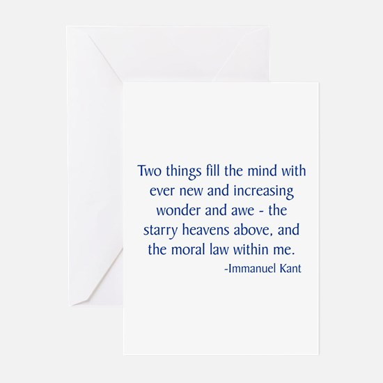 Kant 1 Greeting Cards (Pk of 10)