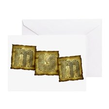 Celtic Letters MUM Greeting Card