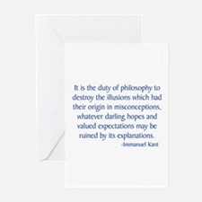 Kant 3 Greeting Cards (Pk of 10)