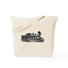 Locomotive (Black) Tote Bag