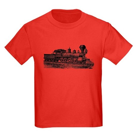 Locomotive (Black) Kids Dark T-Shirt