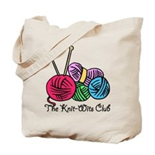 Knit Wits Club Tote Bag