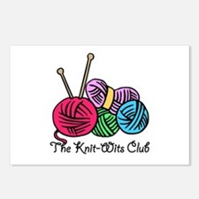 Knit Wits Club Postcards (Package of 8)
