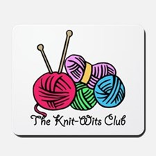 Knit Wits Club Mousepad