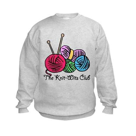 Knit Wits Club Kids Sweatshirt