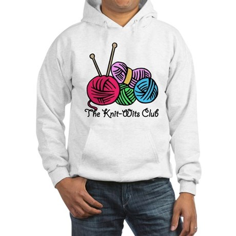 Knit Wits Club Hooded Sweatshirt