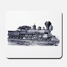 Locomotive (Blue) Mousepad