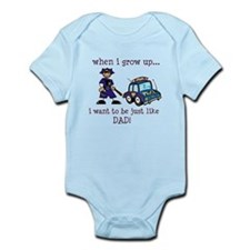Future Policeman just like Dad Infant Bodysuit
