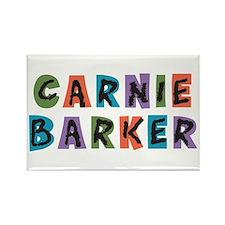 Carnival Carnie Barker Rectangle Magnet