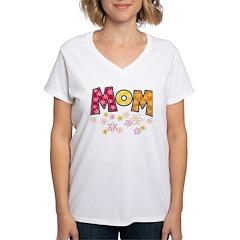 Flowery Mom Shirt