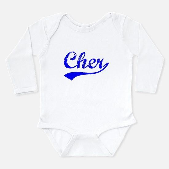 Vintage Cher (Blue) Body Suit