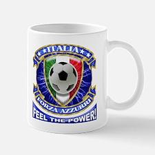 Italia Soccer Power T-Shirts Mug