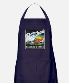 Peaches Records and Tapes logo Apron (dark)