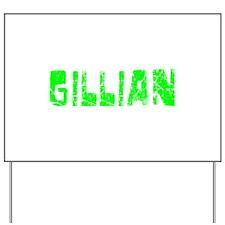 Gillian Faded (Green) Yard Sign