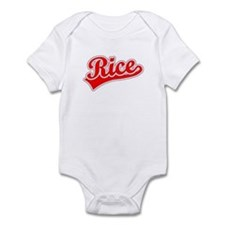 Retro Rice (Red) Infant Bodysuit