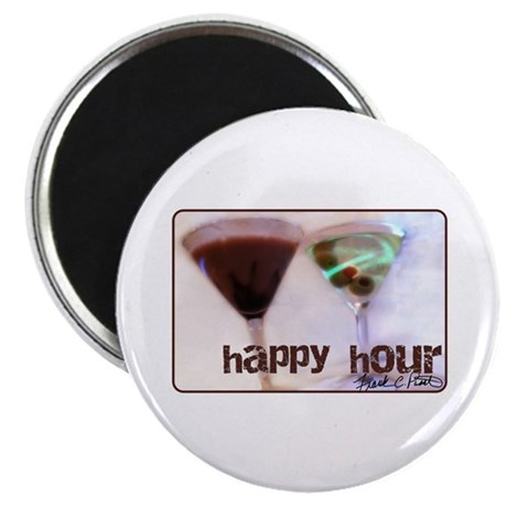 "fcp ""happy hour"" 2.25"" Magnet (10 pack)"