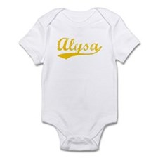 Vintage Alysa (Orange) Onesie