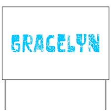 Gracelyn Faded (Blue) Yard Sign