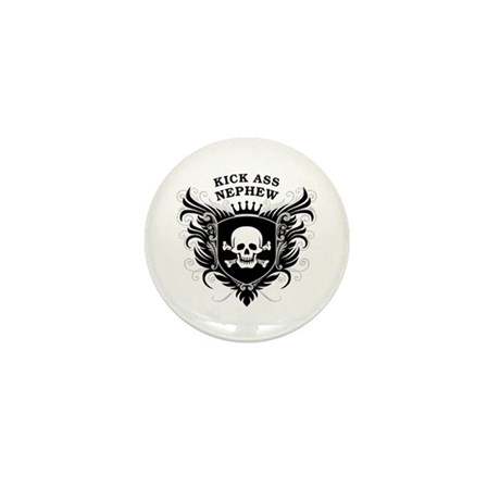 Kick Ass Nephew Mini Button