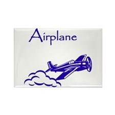 The Blue Plane Rectangle Magnet (10 pack)