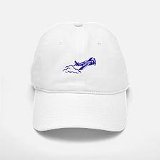 The Blue Plane Baseball Baseball Cap